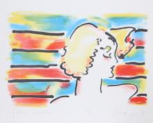 American Woman by  Peter Max - Masterpiece Online