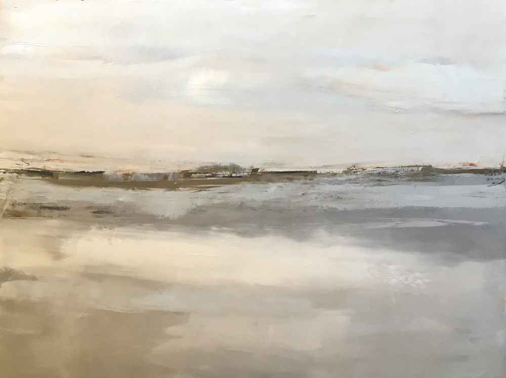 Simple Landscape represented by  by  Sandra Pratt