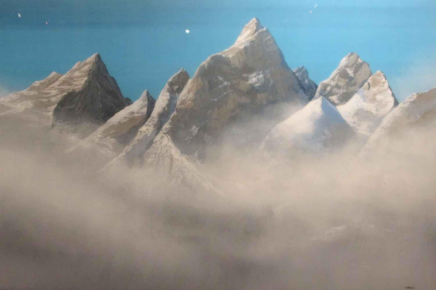 Amoungst The Clouds by  Robert Charon - Masterpiece Online