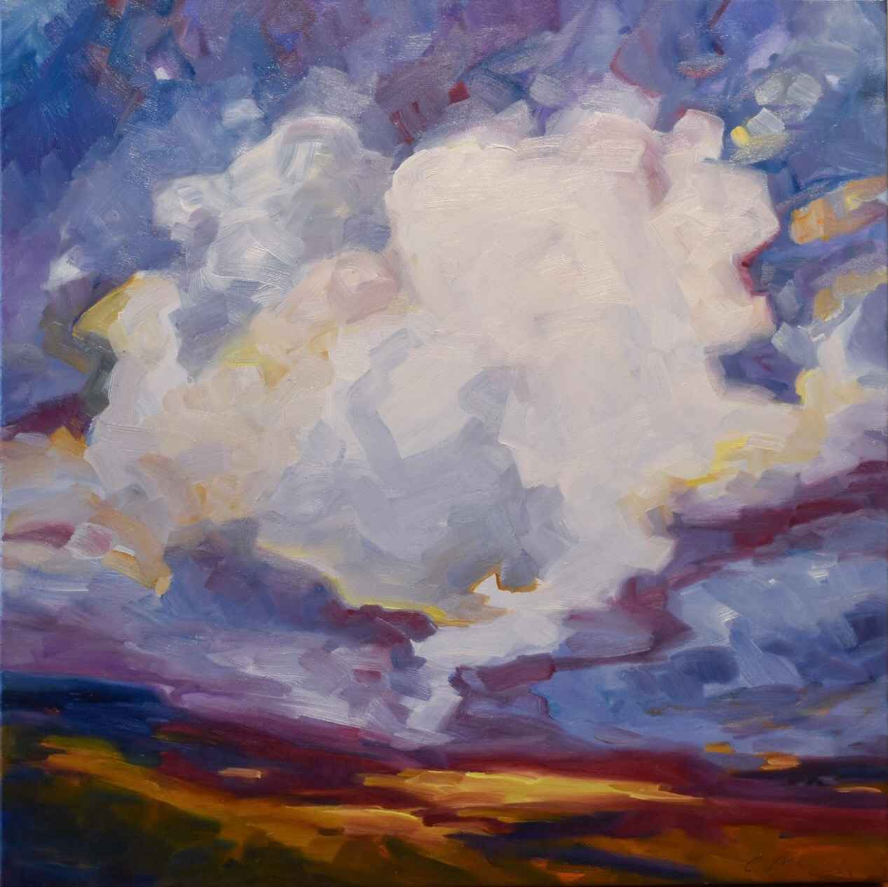 Storm on the Prairie by  Carol McCall - Masterpiece Online