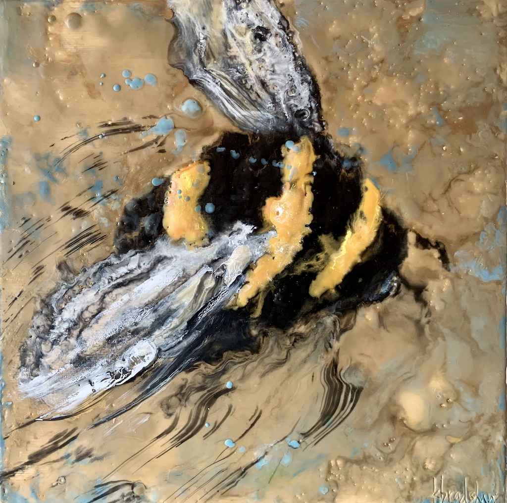I'm Just a Bee Lookin... by  Kathy Bradshaw - Masterpiece Online