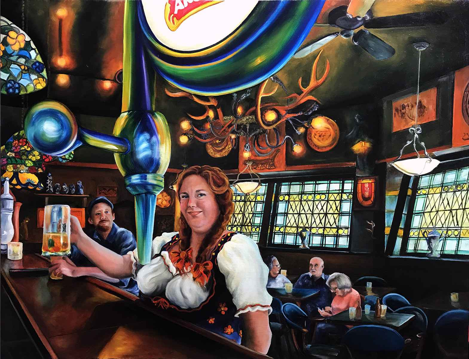 The Bar that Couldn't... by  Colleen Kassner - Masterpiece Online
