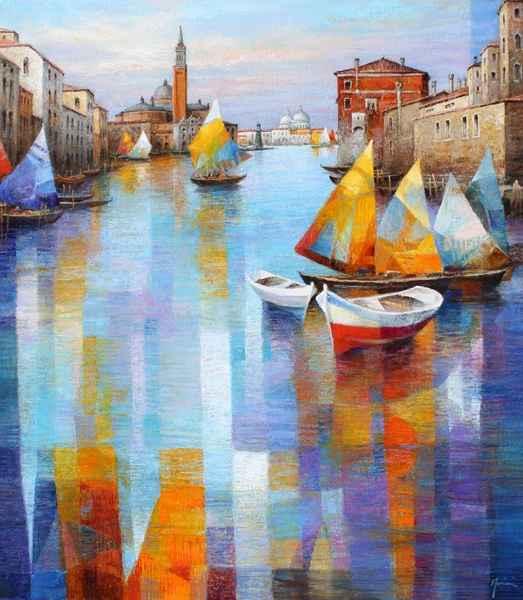 The Serene City by  Gabriella Mariani - Masterpiece Online