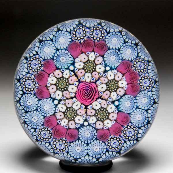 Mike Hunter 2019 circ... by  Twists Glass Studio - Masterpiece Online