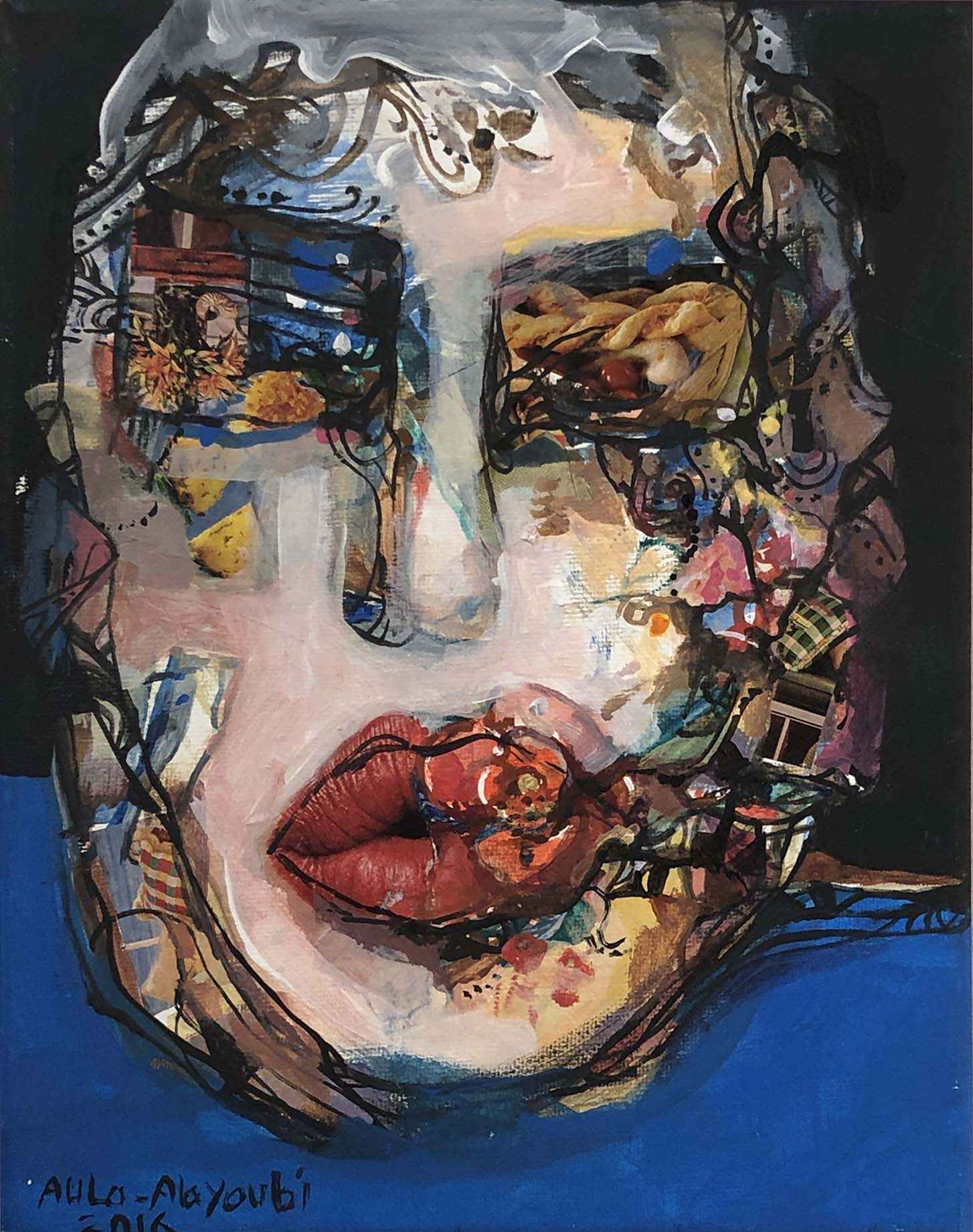 Small Portrait #4 by  Aula Alayoubi - Masterpiece Online