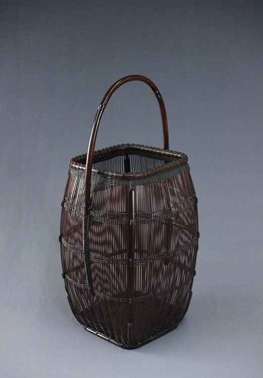 Flower basket with a ... by  Chikuunsai II Tanabe - Masterpiece Online