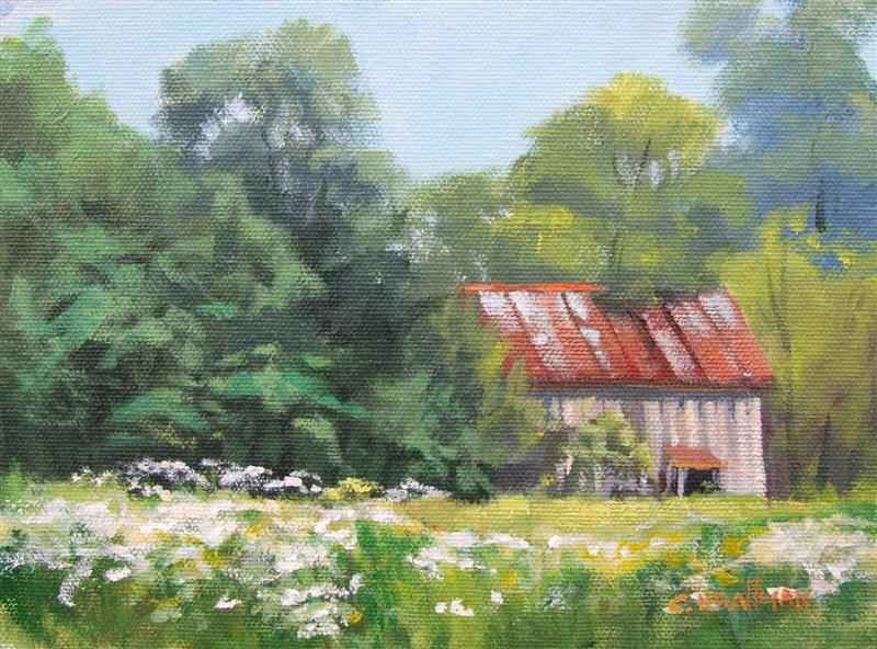 Daisies by the Old Ba...  by  Cally Krallman