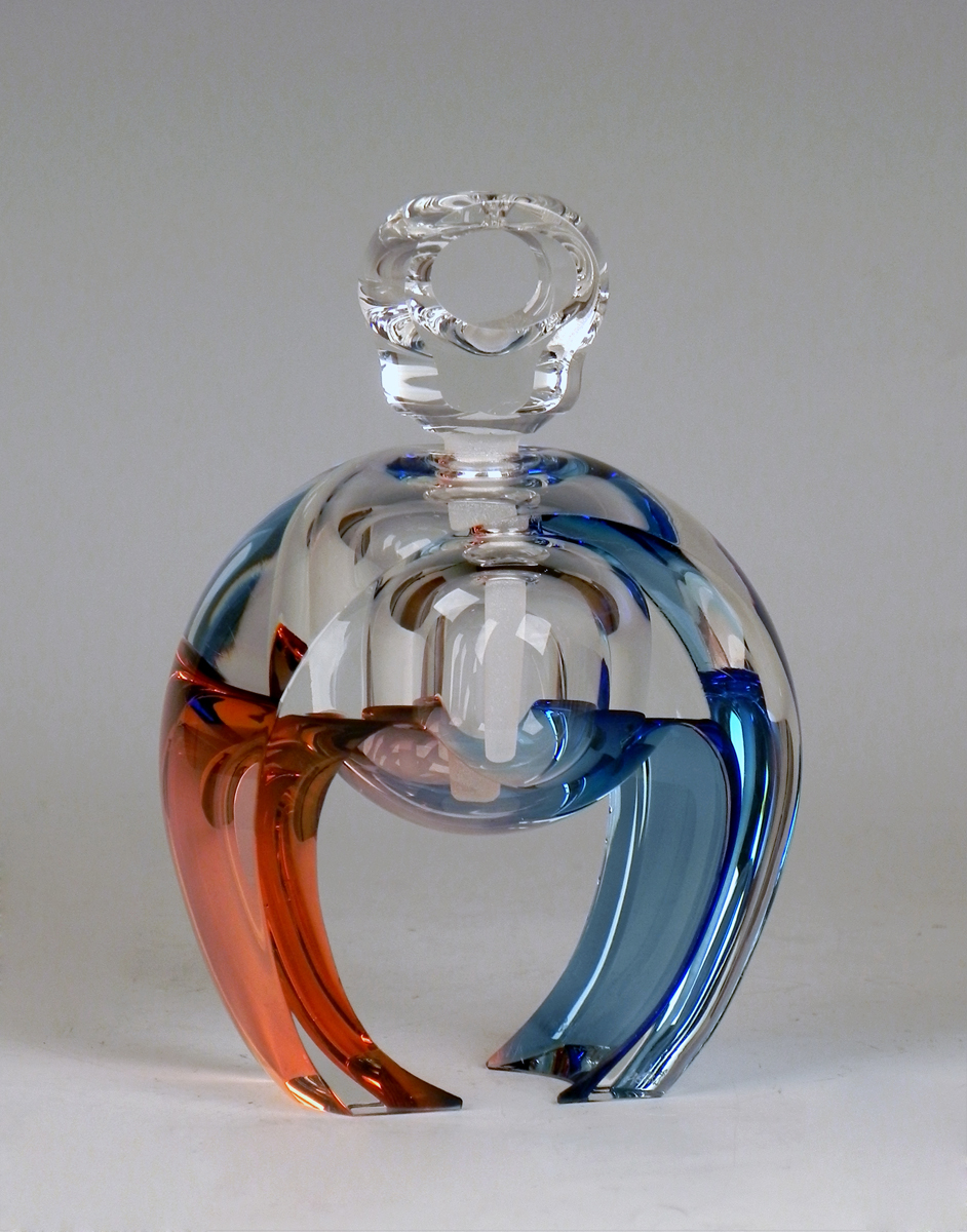Perfume/Blue & Coral ... by  Kevin Kutch - Masterpiece Online