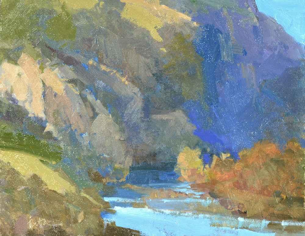 Above the Rio Grande by  Lori Putnam - Masterpiece Online
