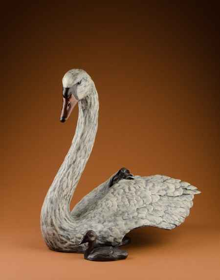 Cozy Cygnets 7/35 by  Rip & Alison Caswell - Masterpiece Online