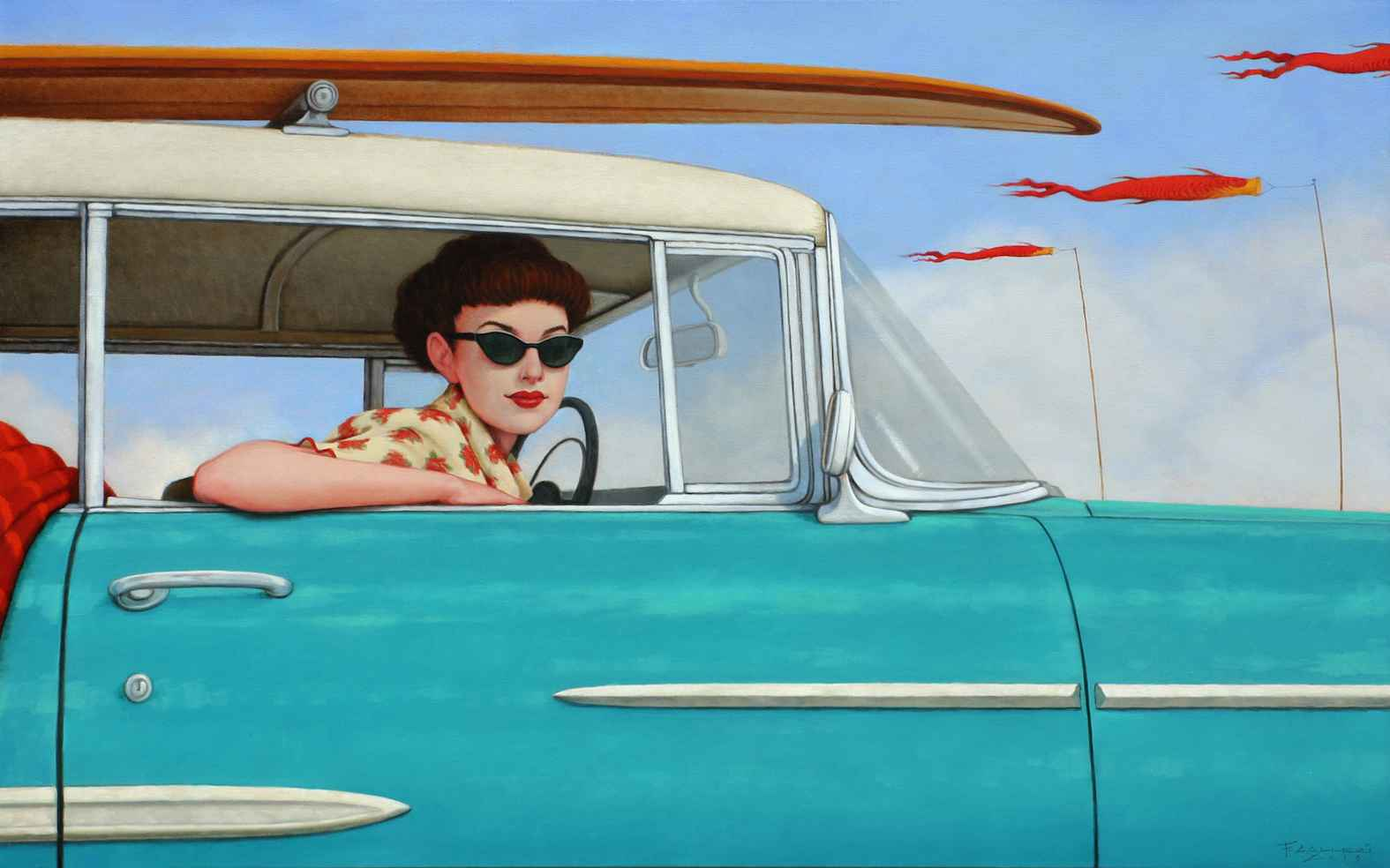 Kinda Koi by Mr. Fred Calleri - Masterpiece Online