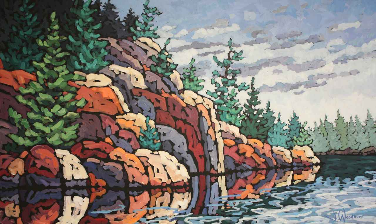 Northern Reflections by Ms Jennifer Woodburn - Masterpiece Online