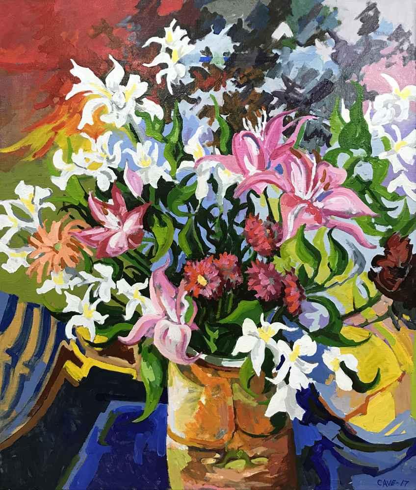 Oleta Floral by  Joseph Cave - Masterpiece Online