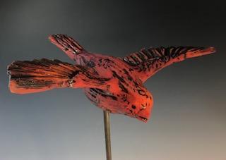 Flying Bird, Red