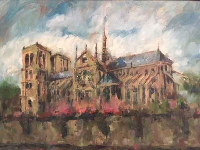 Notre Dame by  Patrick Romelli - Masterpiece Online