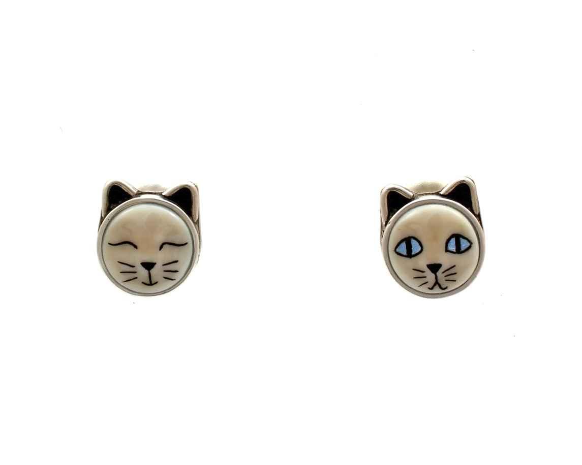 Cat Earrings by  Michelle Tapia - Masterpiece Online