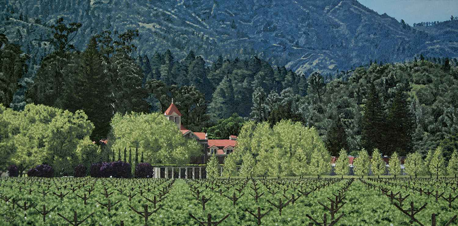 Inglenook, Napa Valley  by  Tyler Abshier