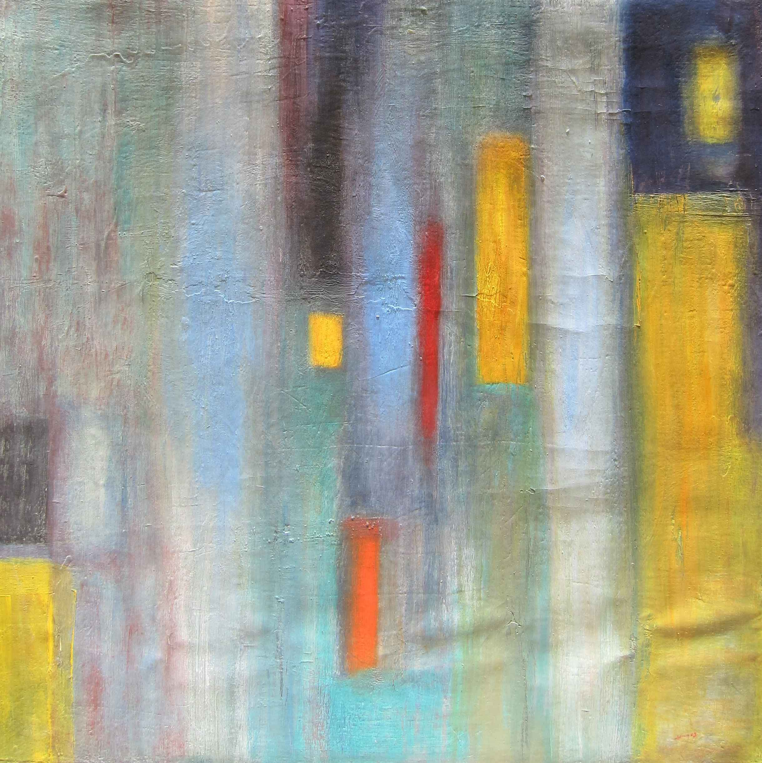 Abstract #10 by  Sergine ANDRE - Masterpiece Online