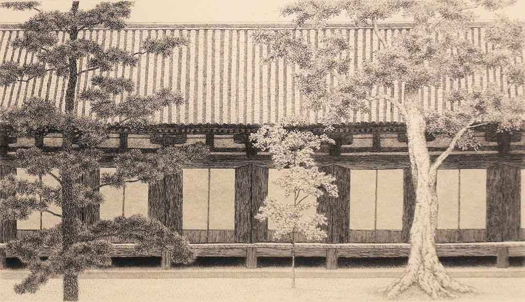 Kyoto No. 28 Sanjusan... by  Ryohei Tanaka - Masterpiece Online