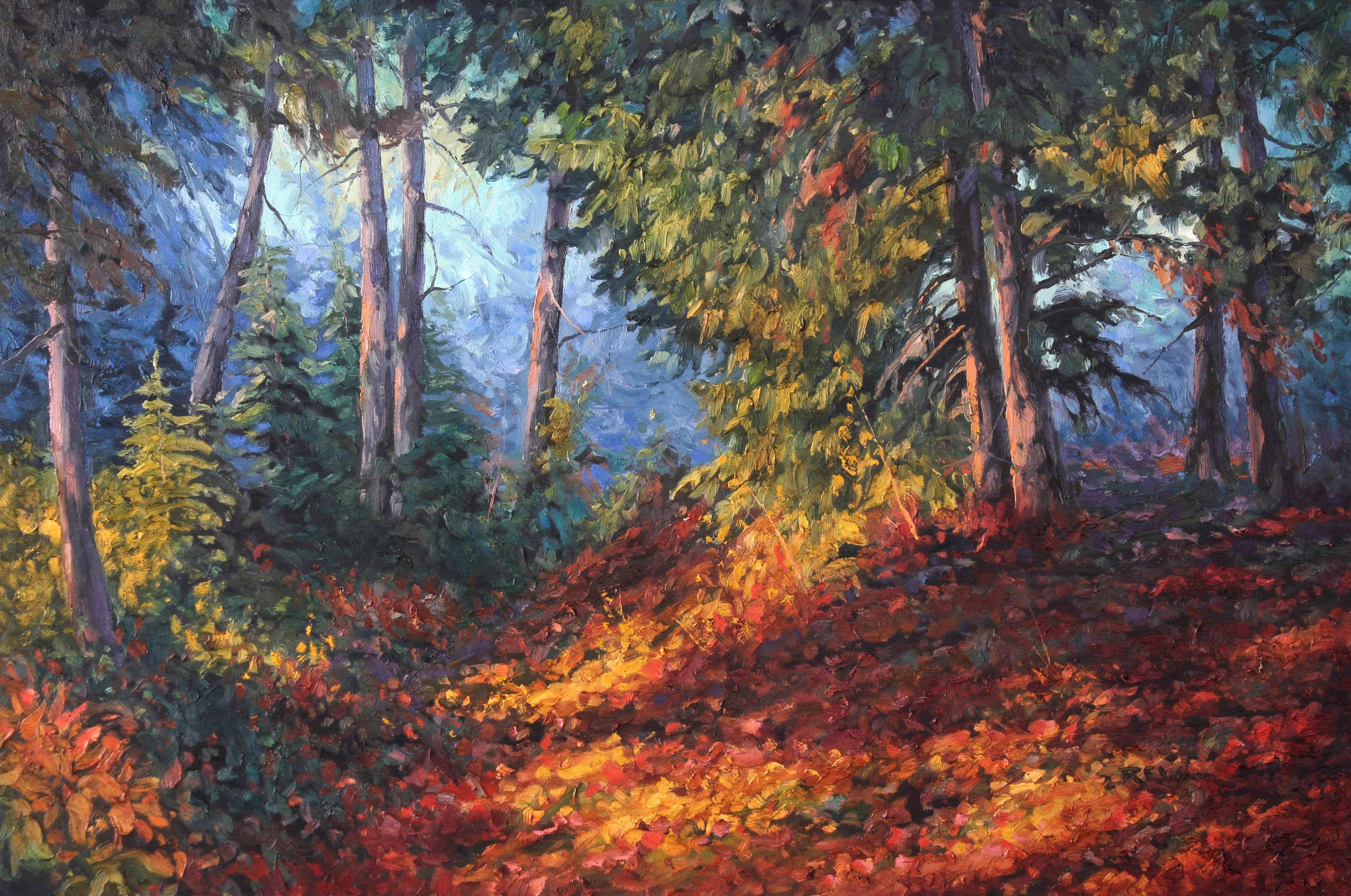 Forest Mist by  Robert E. Wood - Masterpiece Online