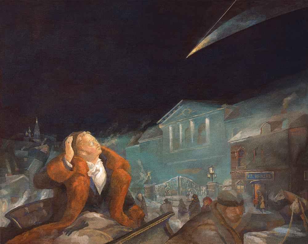 Comet of 1812  by  Igor Karash
