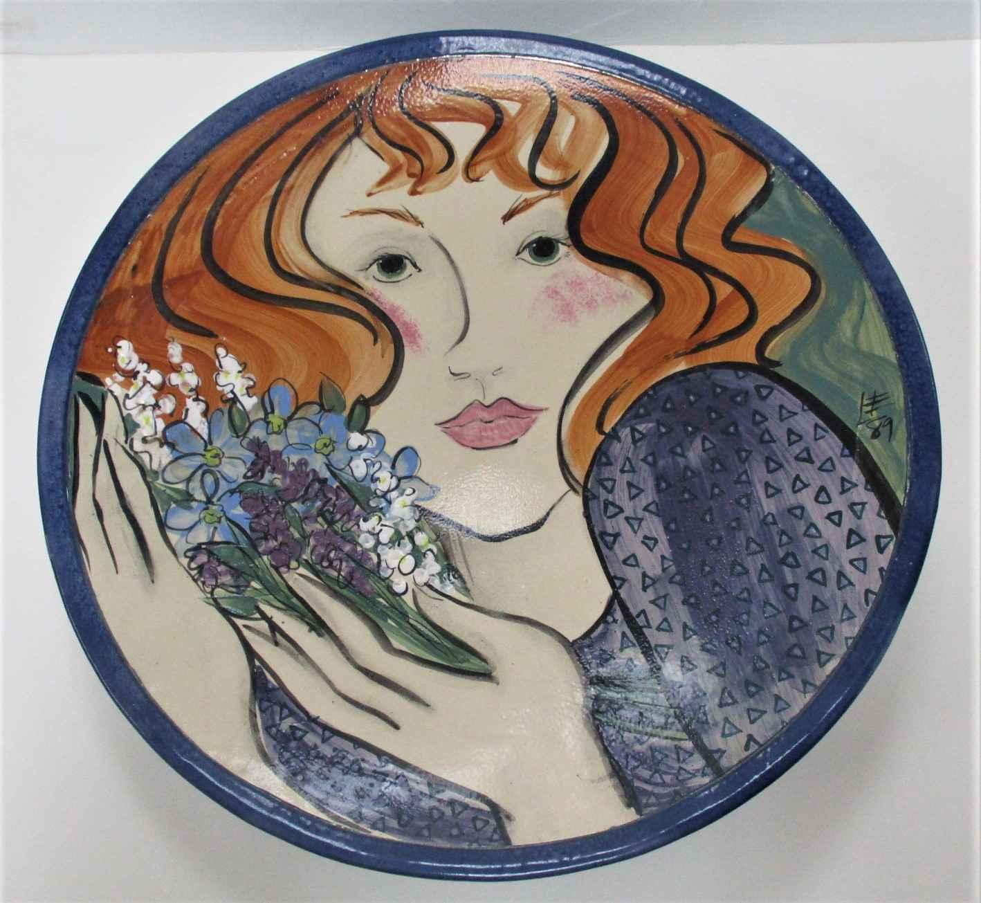 Untitled ( Plate) by  Leslie Lee - Masterpiece Online