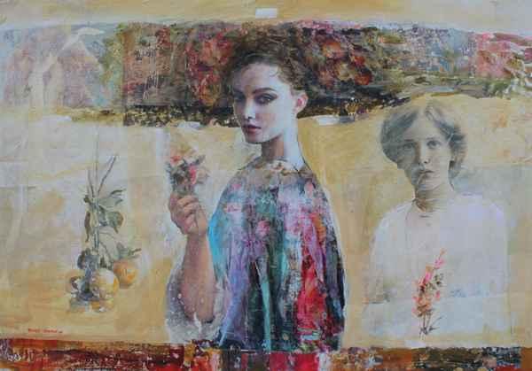 Two Women by  Marko Kusmuk - Masterpiece Online