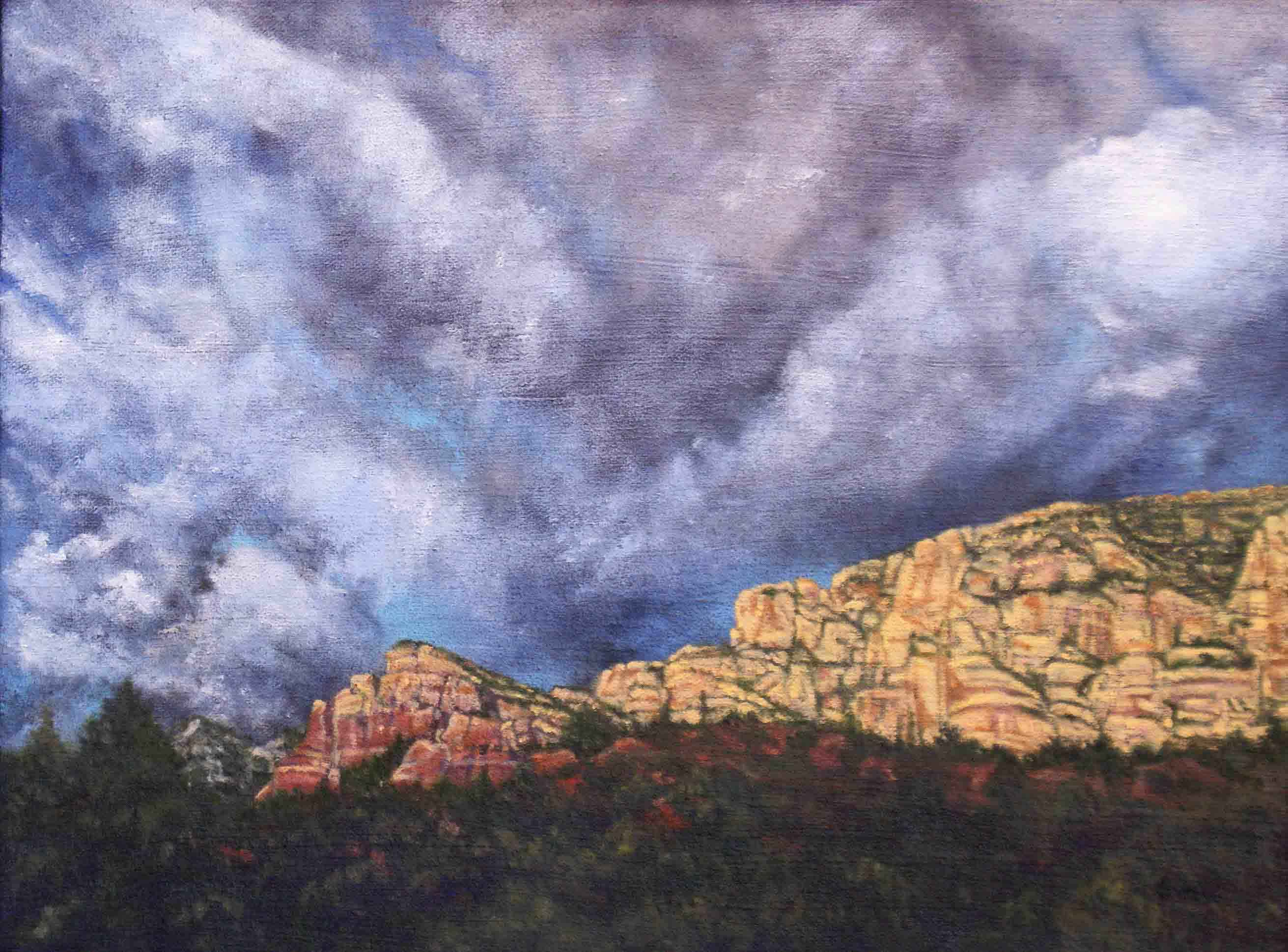 Storm Over Dry Creek by  Syri Hall - Masterpiece Online