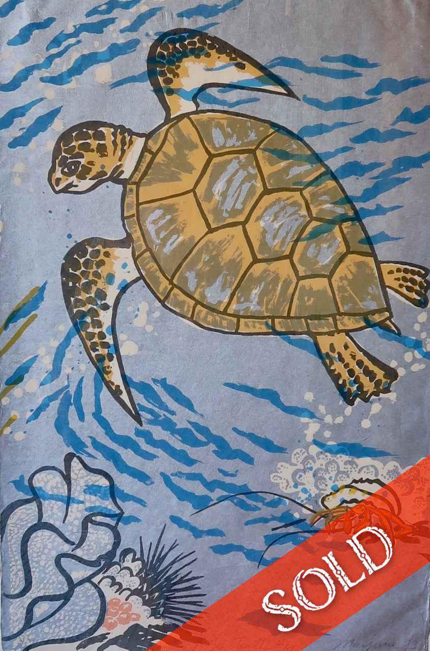 Sea Turtle, #21/50 by  Mayumi Oda - Masterpiece Online