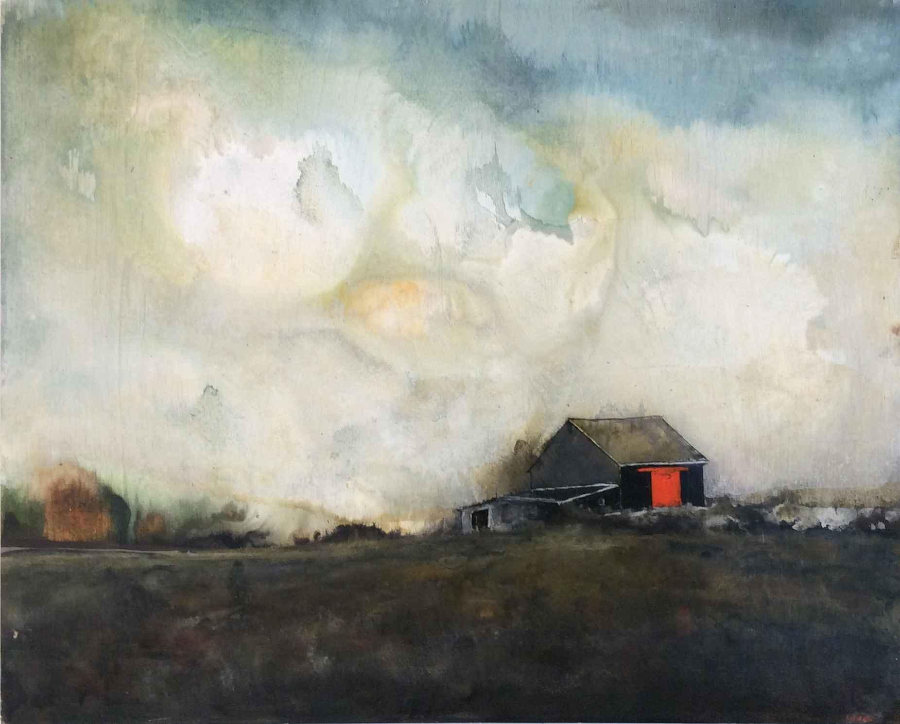 Dark Red Door By Colin Ruel The Field Gallery