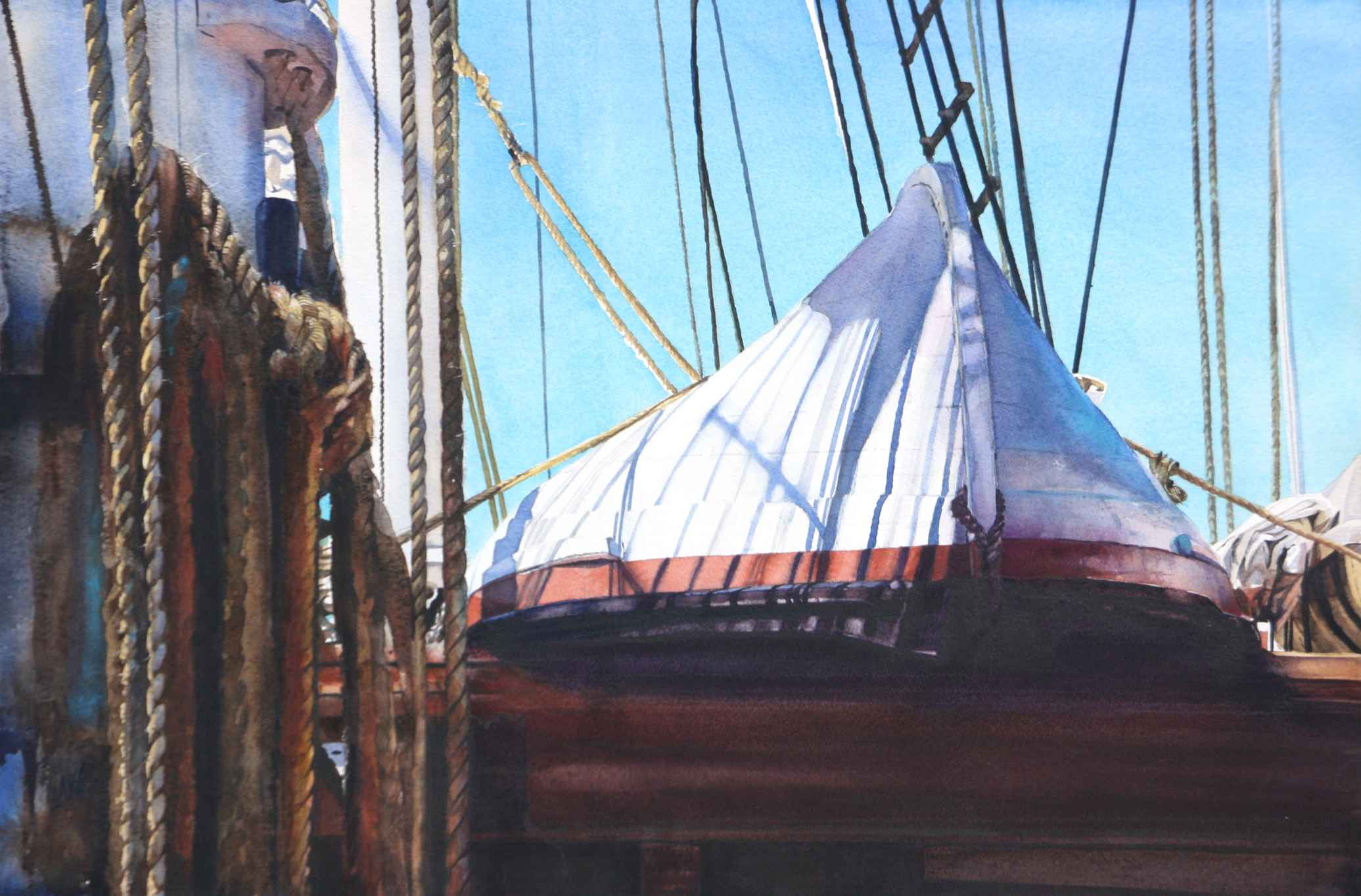 Whaleboat on the Char... by  Heidi Lang - Masterpiece Online