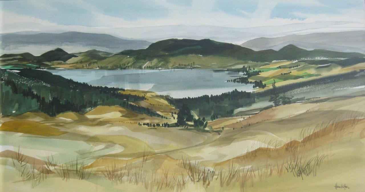 Duck Lake From Beaver... by  Jack Hambleton - Masterpiece Online