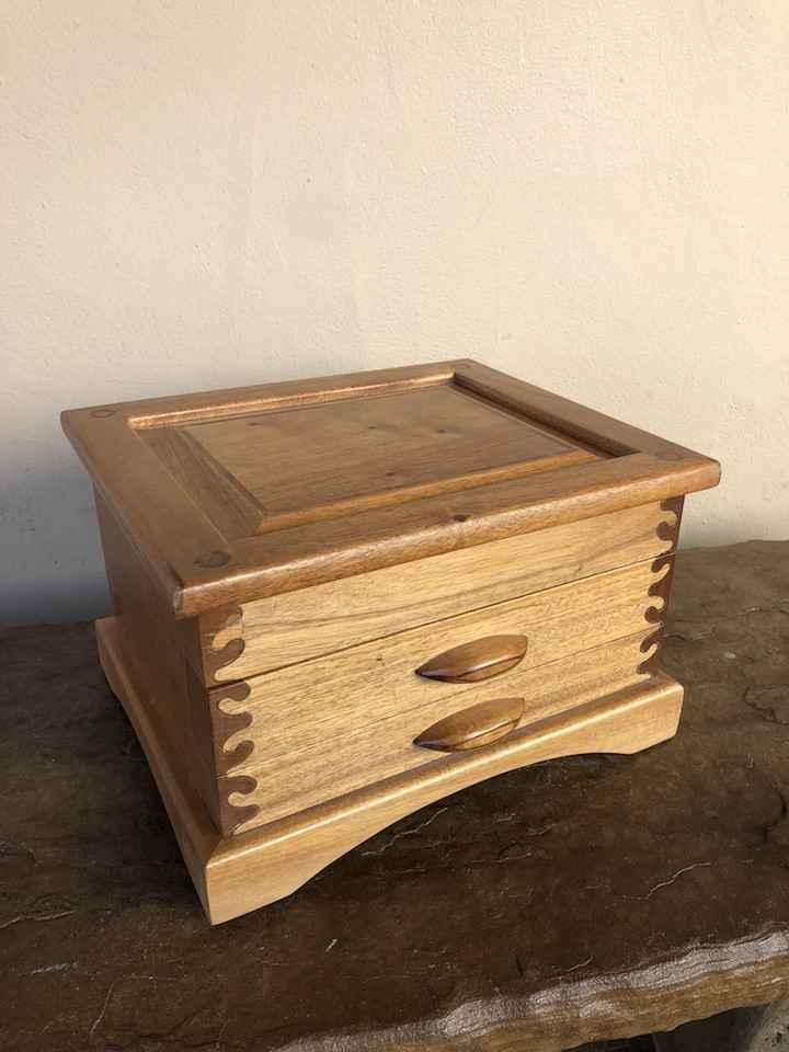 Treasure Box- Mohogan... by  Judd Lotts - Masterpiece Online