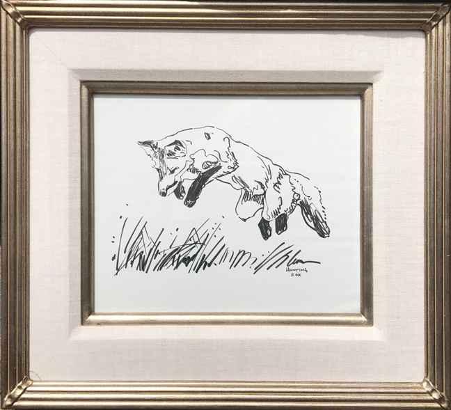 Leaping Fox by Mr. & Mrs. Kent Lemon - Masterpiece Online