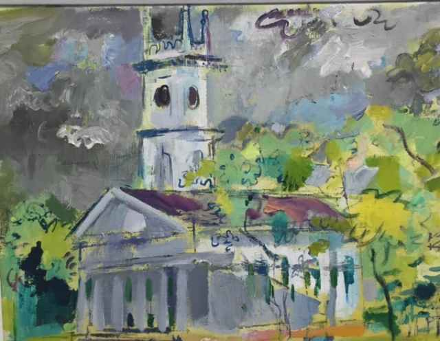 Whaling Church by  Francis Chapin - Masterpiece Online