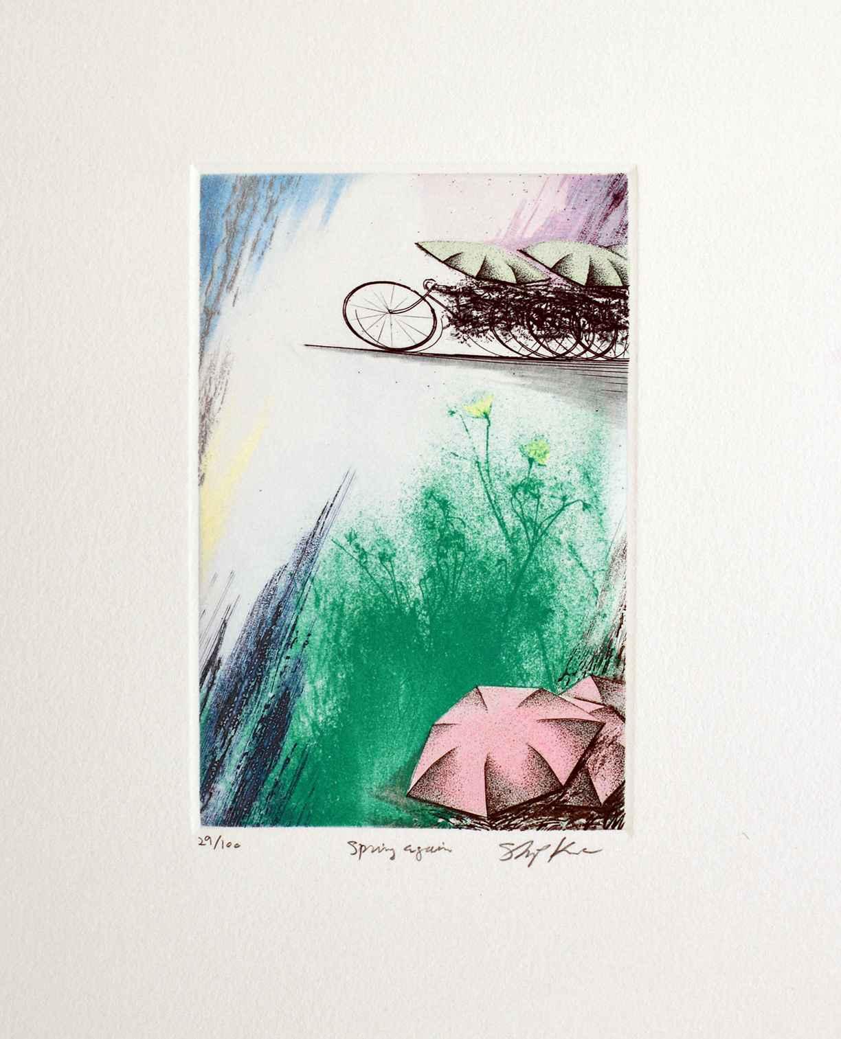 Spring Again by  Shigeki Kuroda - Masterpiece Online