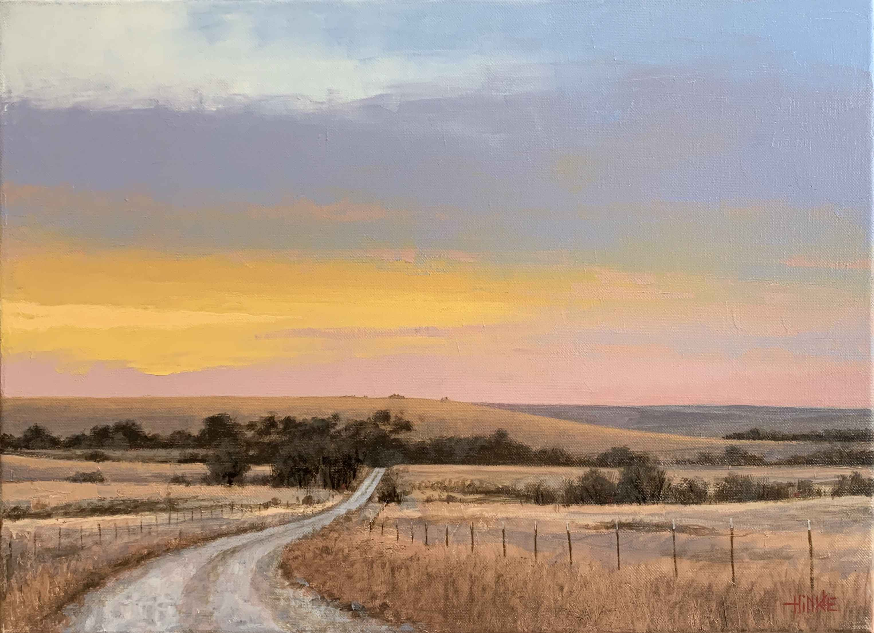 Dawn on Reece Rd # 2 by  Brian Hinkle - Masterpiece Online