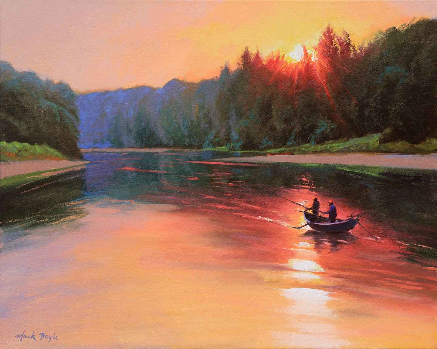 Drifting on the Stilly by Mr Mark Boyle - Masterpiece Online