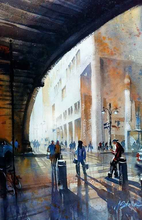 Waiting for the Train... by Mr. Thomas Schaller - Masterpiece Online