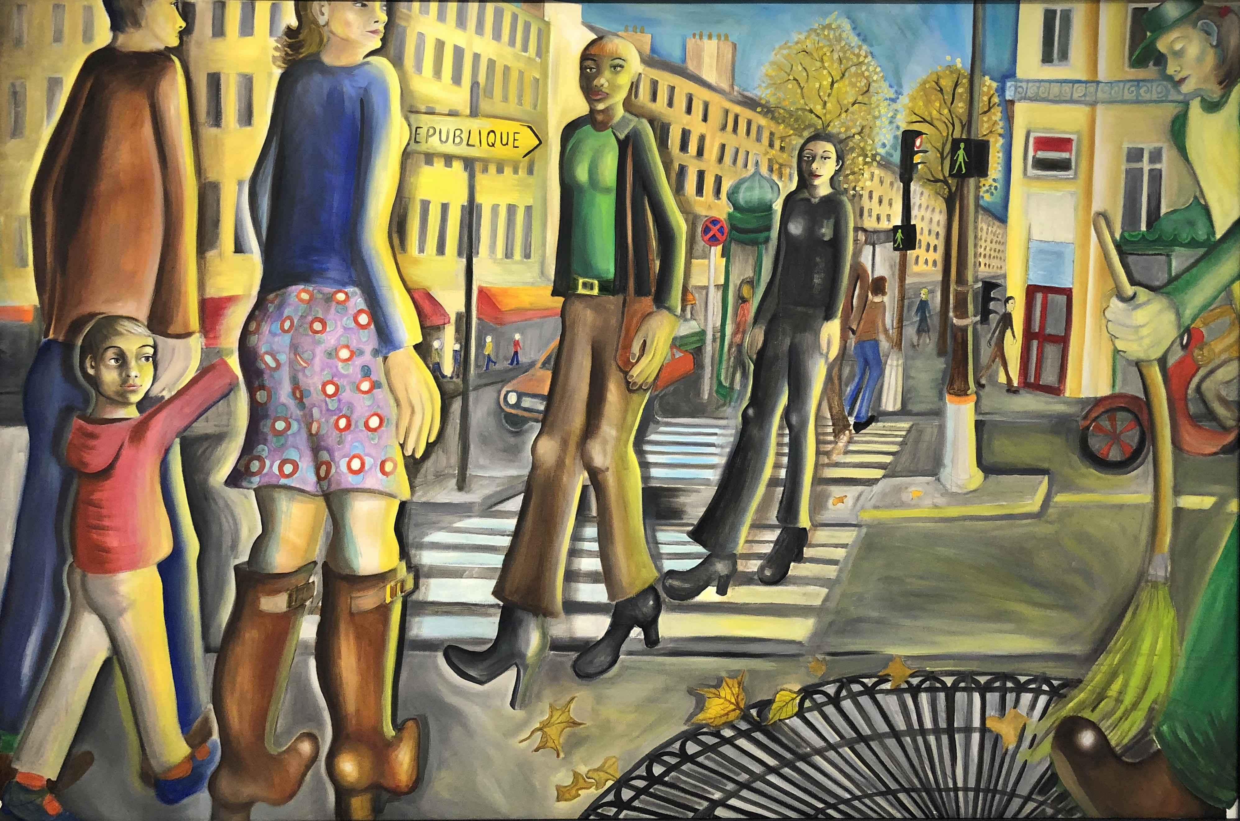 Boulevard to Republiq... by Ms. Rebecca Vincenzi - Masterpiece Online