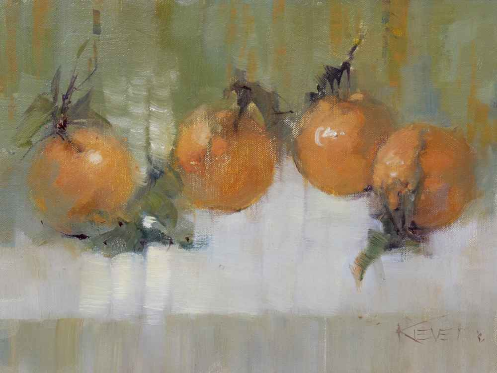 Mandarin Orange  by  Fran Kievet