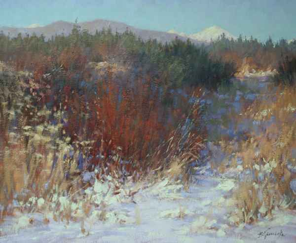 February Color on She... by  Barbara Jaenicke - Masterpiece Online