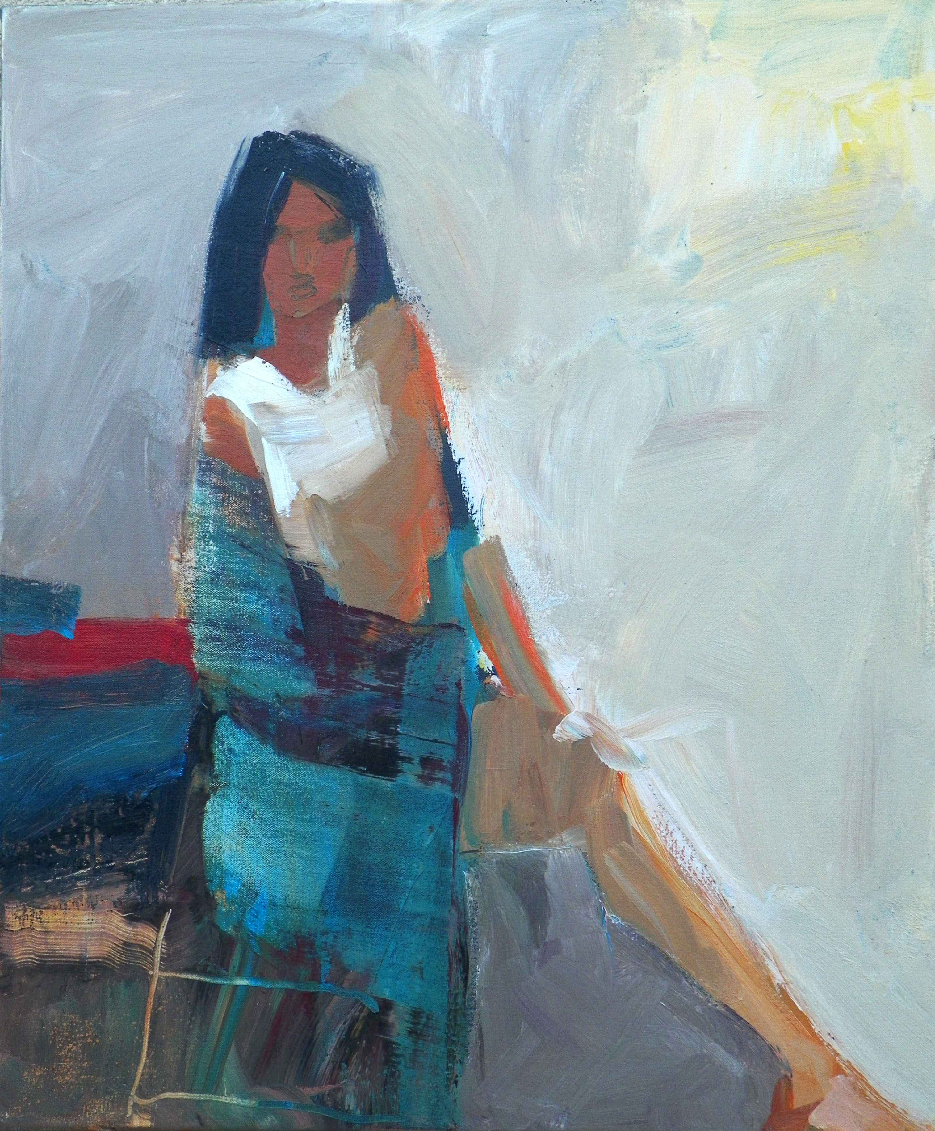 Woman with Shawl
