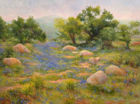 River of Blue by  Barbara Mauldin - Masterpiece Online