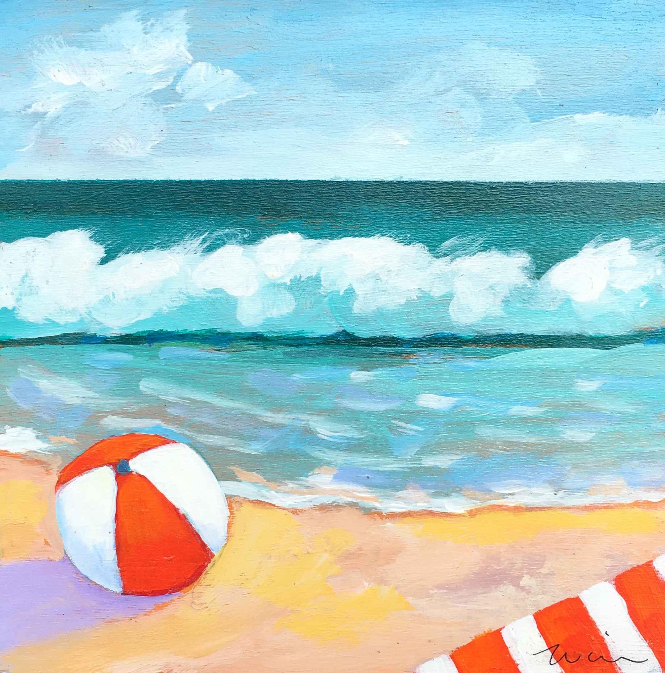 South Beach Summer fun by  Kate Winn - Masterpiece Online