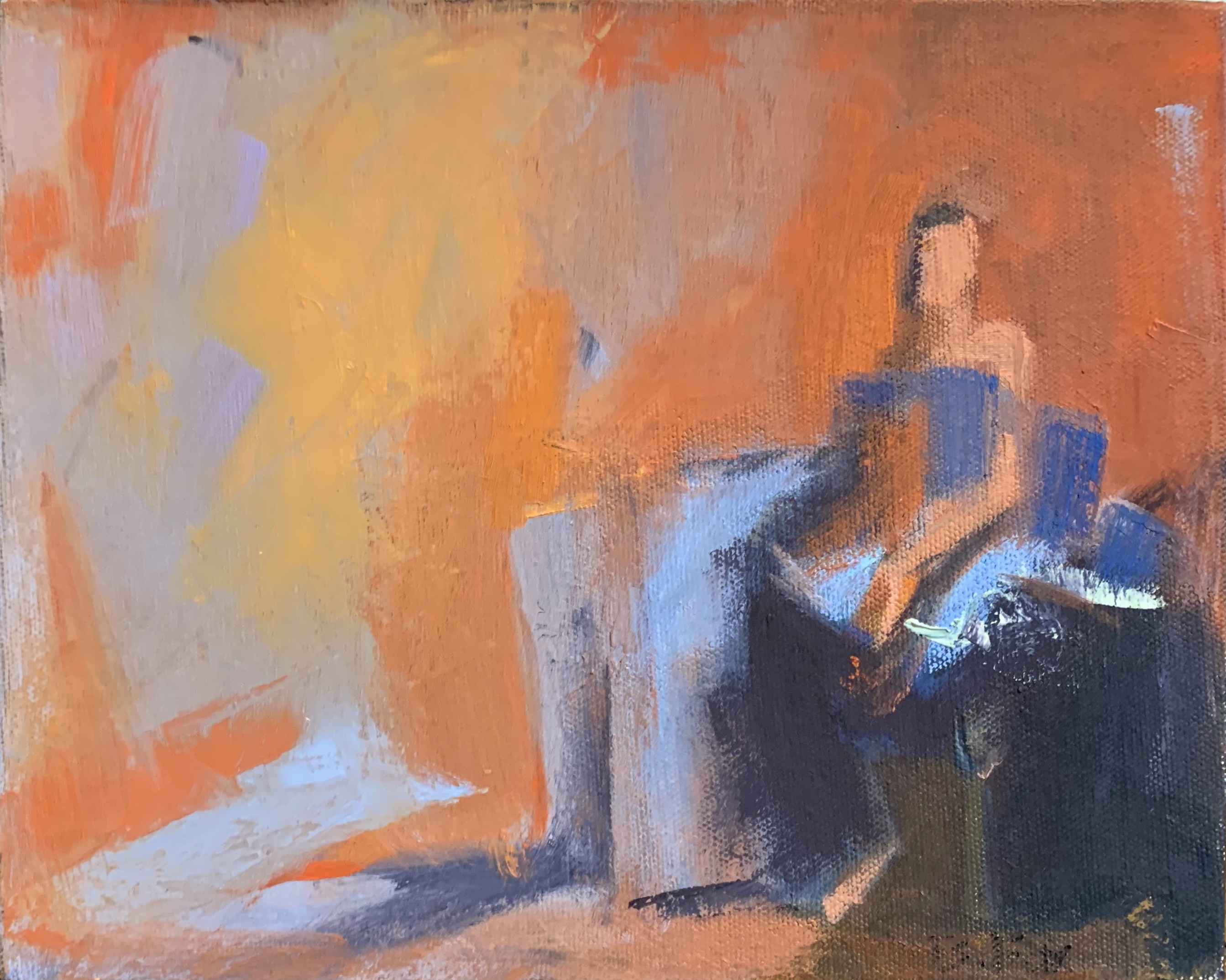 The Red Room by  Brenda Fox - Masterpiece Online