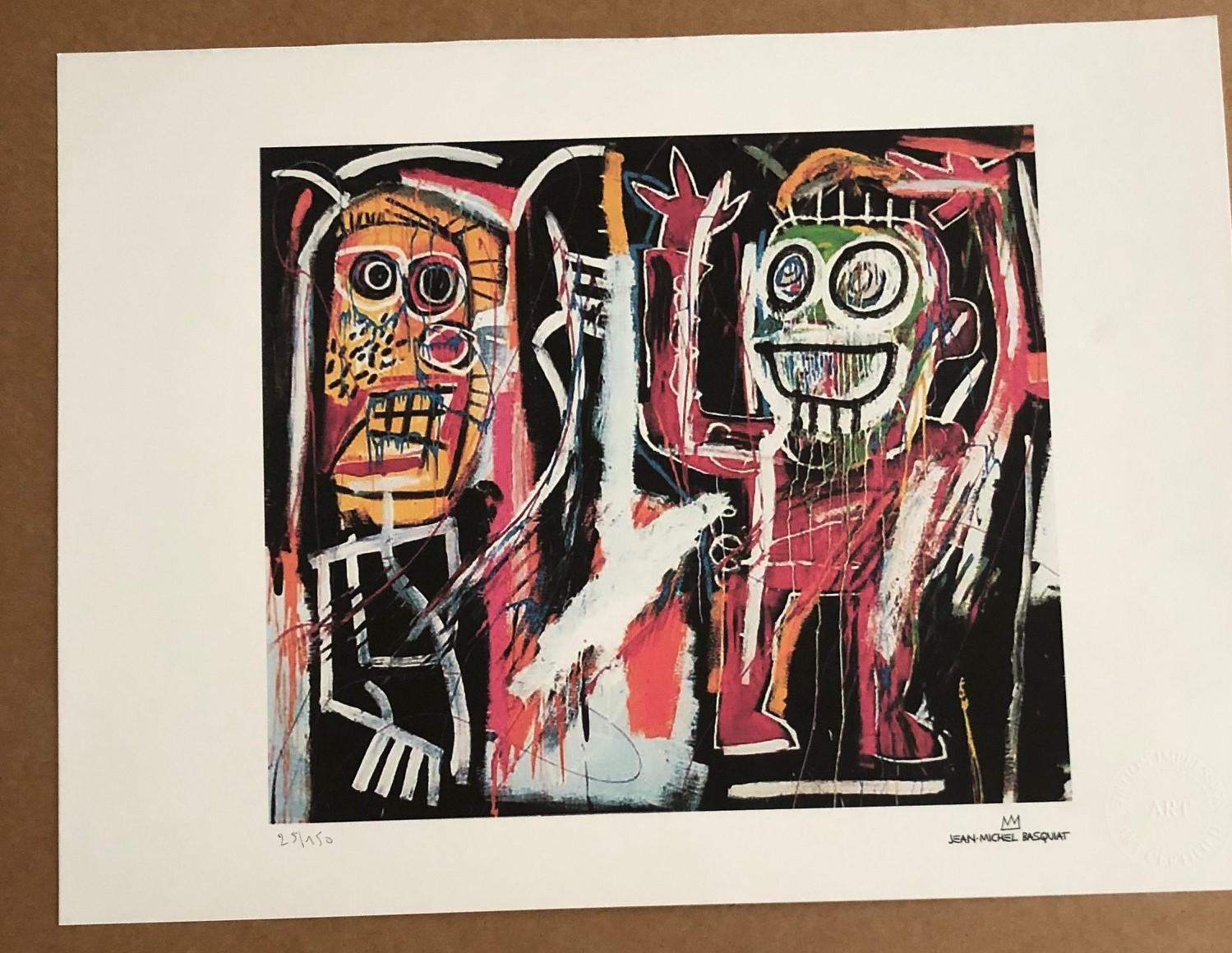 Dustheads (1982) by  Jean-Michel Basquiat - Masterpiece Online