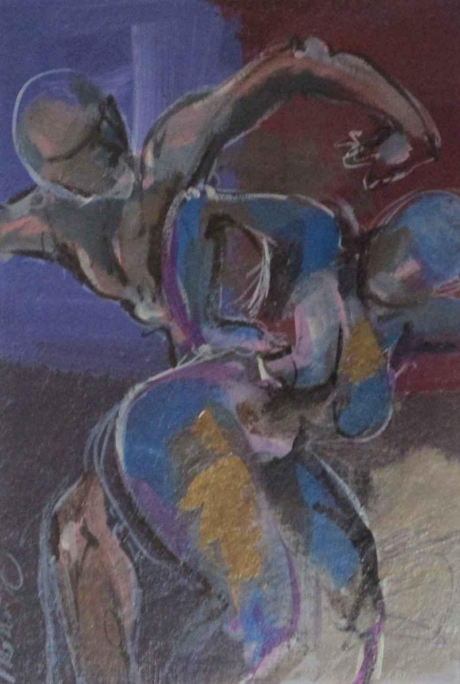 Unknown ( Dancers) by  Mona Jones Cordell - Masterpiece Online