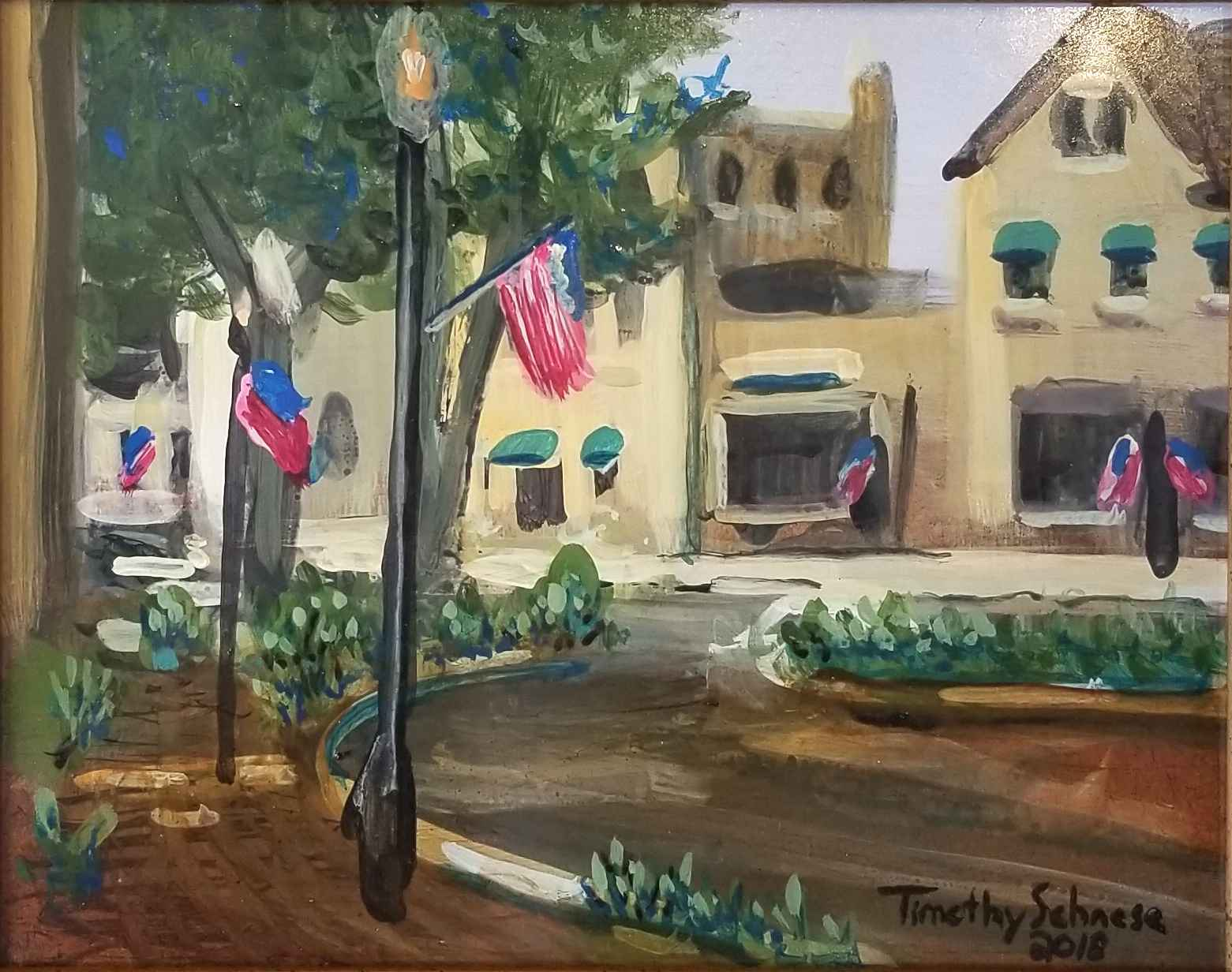 Crooked Lane by  Timothy Schnese - Masterpiece Online