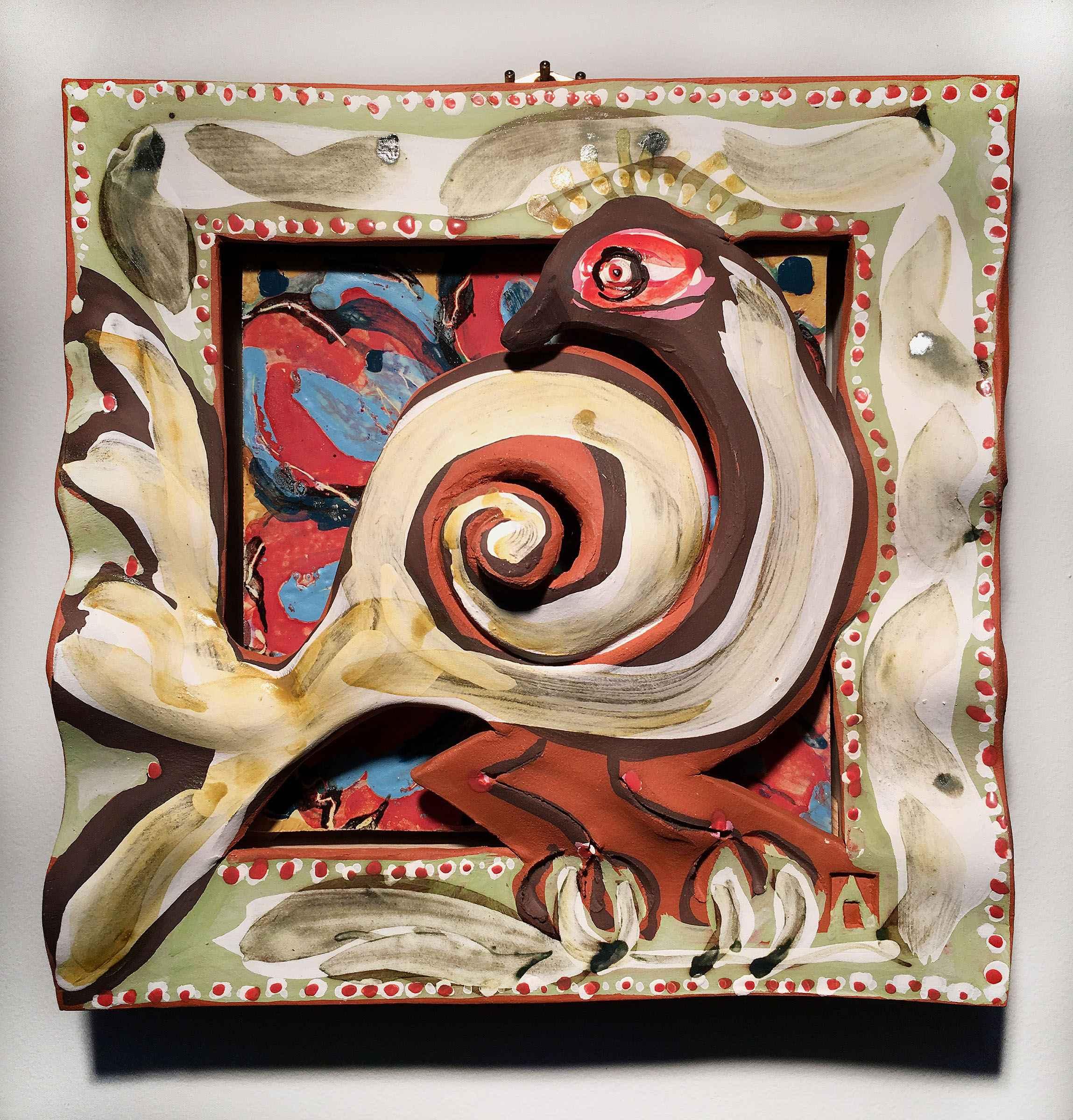 Snowbird Right by  Nancy Kramer Bovee - Masterpiece Online